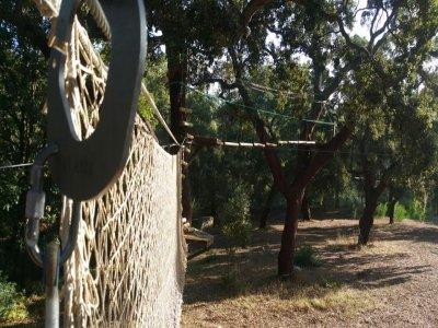 Circuito de arborismo y rocódromo Castellar Cádiz