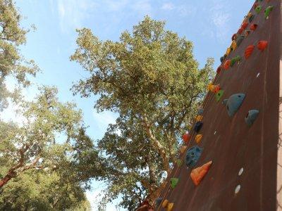 Tree-top and climbing wall circuit near Gibraltar