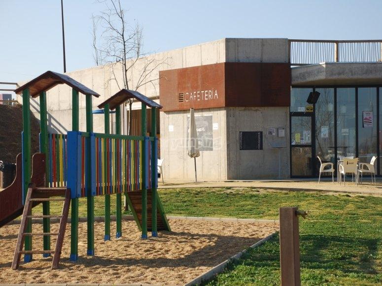 children's area in Las Graveras