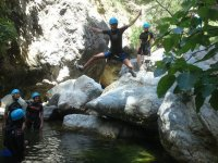 Canyoning in the surroundings of Marbella