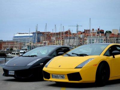 Lamborghini pilota a Gijón 20 minuti