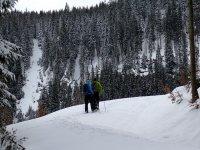 夫妇在雪中