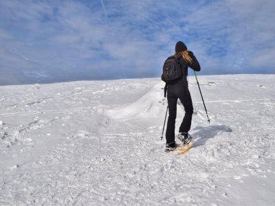 启动路线雪鞋Estany Llong