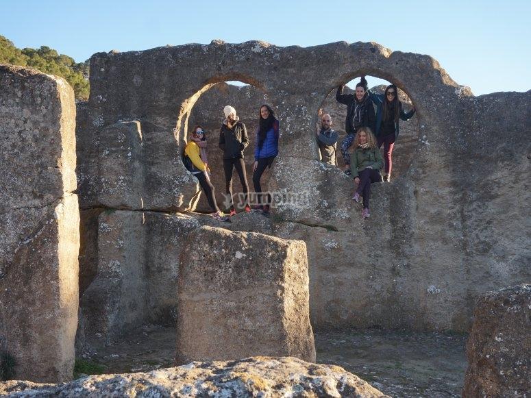 En la ruinas