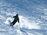 下山--999-做越野滑雪