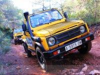 Convertible Jeep tour 4x4