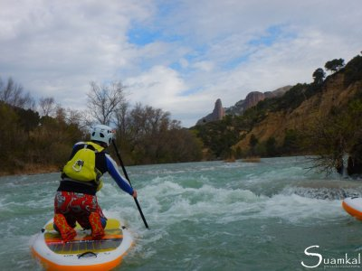 Stand up Paddle in Gállego River Aragón