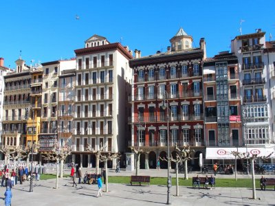 Historical and literary guided tour Pamplona 2h