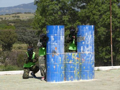 Paintball adultos 300 bolas Colmenar Madrid Norte