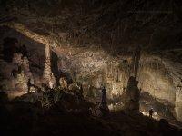 洞穴去拉莫内达拉莫内达在Espuna地区