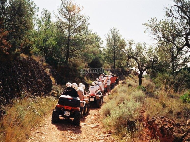 De camino por el monte de Tarragona