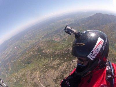 Bautismo de vuelo en parapente en Alarilla