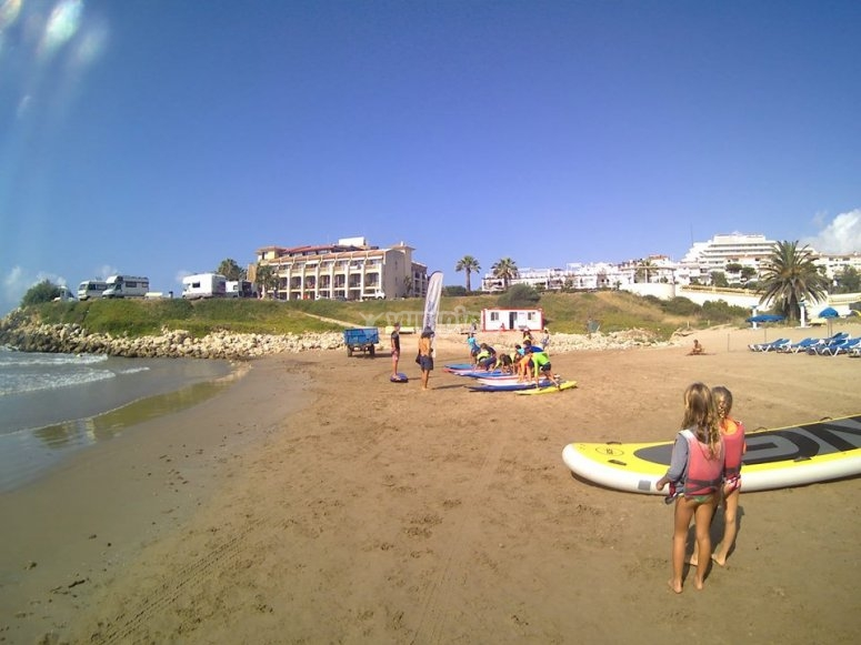 Surf classes adapted to each age