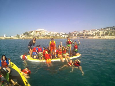 Nautical camp children in Easter Sitges 5d