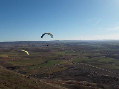 Paragliding beginners La Muela Alarilla 15min