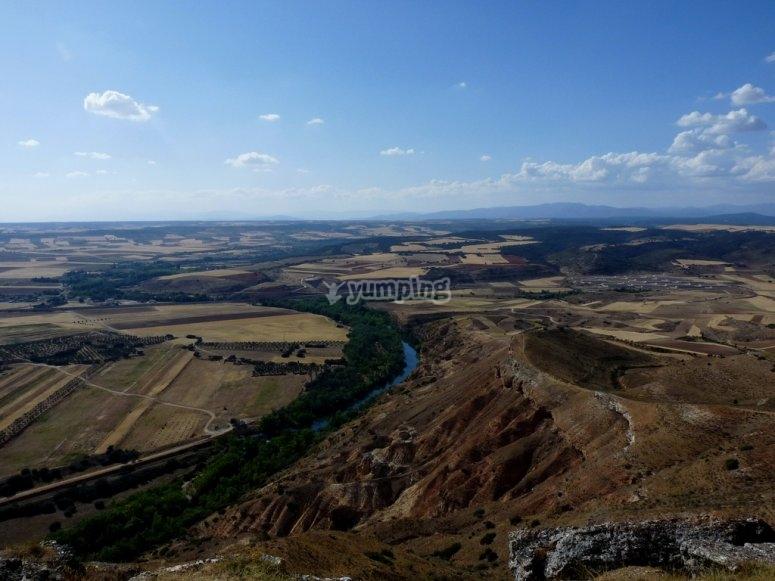 La Muela plateau