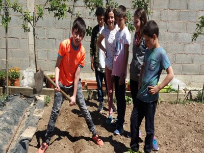 Campamento urbano Granja Escuela Haro Semana Santa