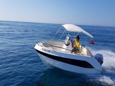 Alquiler de barco en Santa Pola 4 horas