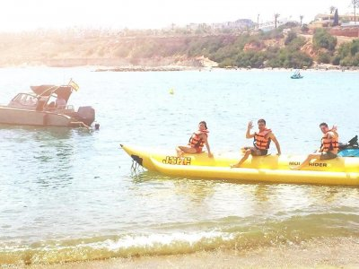 20 min Banana Boat ride in Cabo Roig