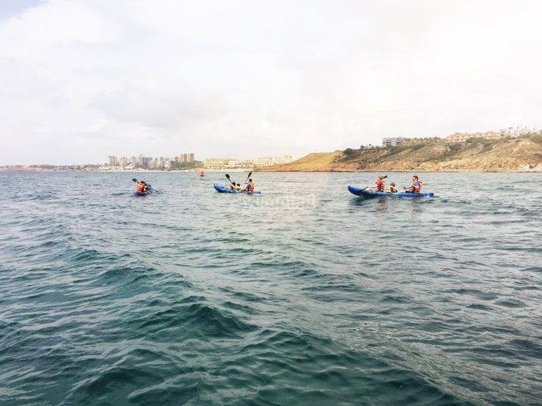 Noleggio kayak nel Mediterraneo
