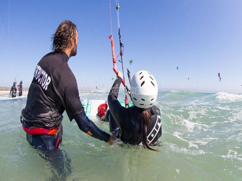 丰希罗拉的风筝冲浪监视器