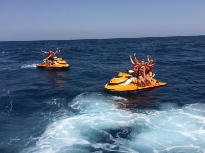 Tour en moto de agua en Cabo Roig 30 minutos