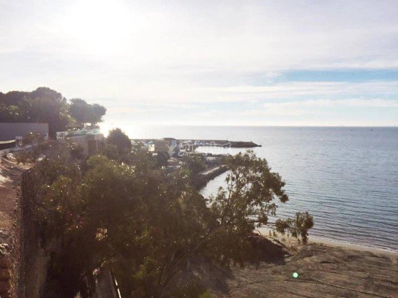 The seashore between Murcia and Alicante