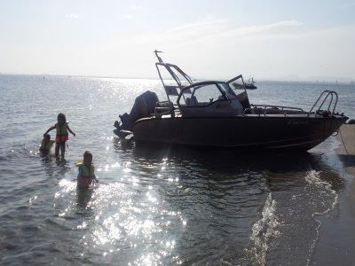 Paseo en barco charter Encañizada mar Menor 2h
