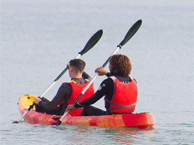 Percorso doppio kayak e snorkeling a Cabo Roig 1 h 30 min