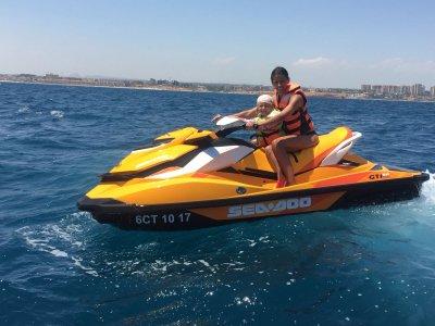 Ruta en moto de agua Cabo Roig 60 minutos