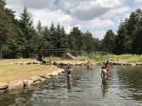 Nuoto in piscine naturali