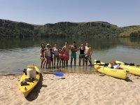 Kayak en el río Duratón