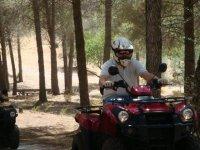 In the quads