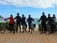 By bike in Sant Feliu