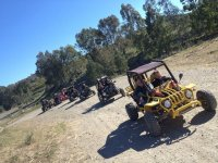 Buggies on the route