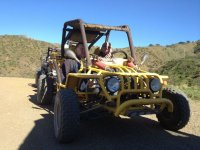 Couple in the buggie