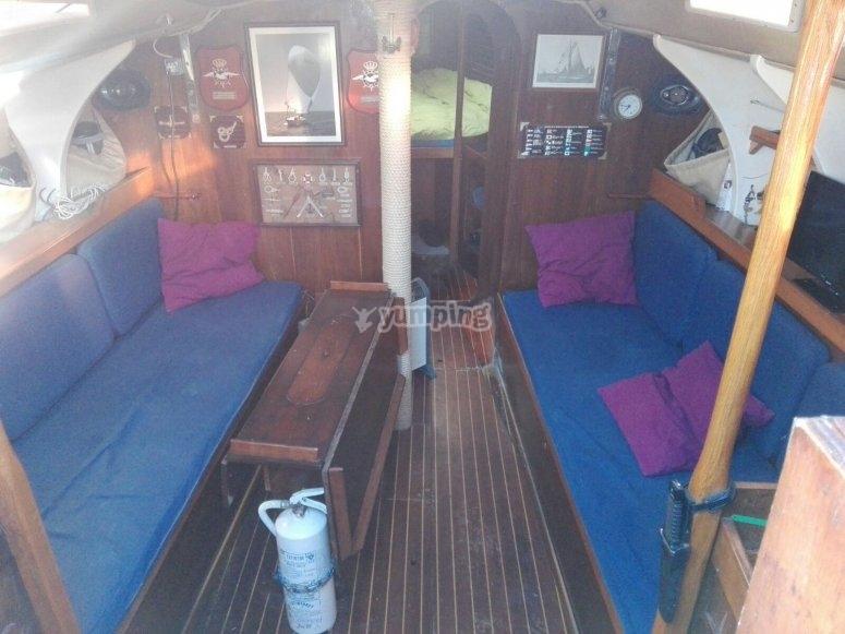 Alquiler de velero Visier Huelva