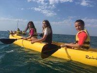 Campamento urbano inglés windsurf y aventura julio