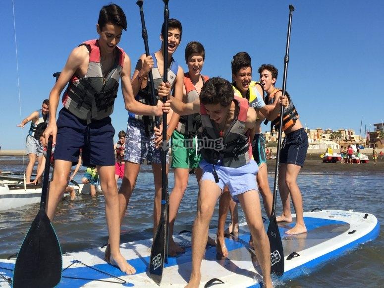 Tabla de Big Paddle para grupos