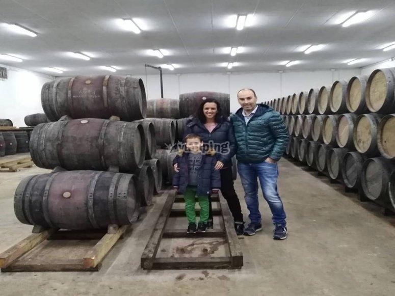 参观家庭酿酒厂