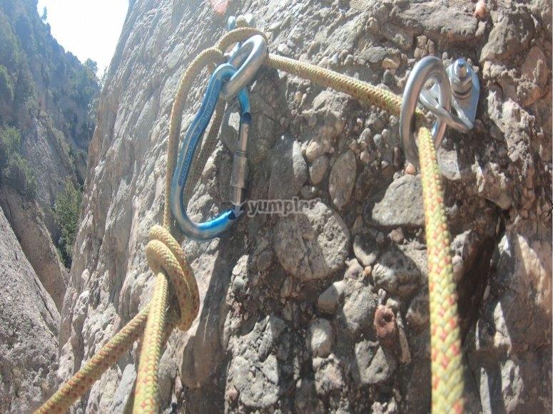 八个内置攀岩