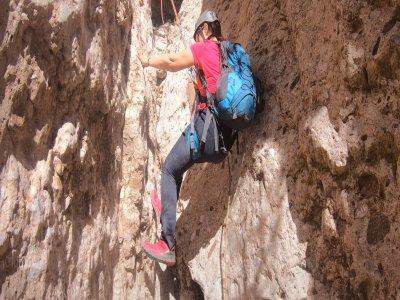 5h Beginners Descent Migdia Canyon in Montserrat