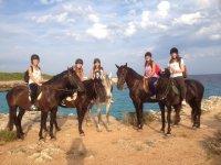 Excursión a caballo Camí de Cavalls 1 hora