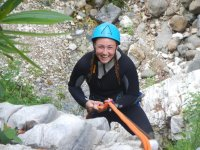 canyoning in discesa a Malaga