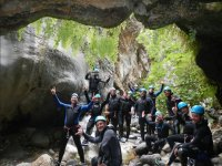 canyoning in sosta