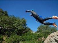 Rappel jump