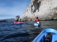 在Sea Kayak的航线