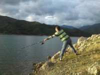 pesca en el embalse de la concepcion