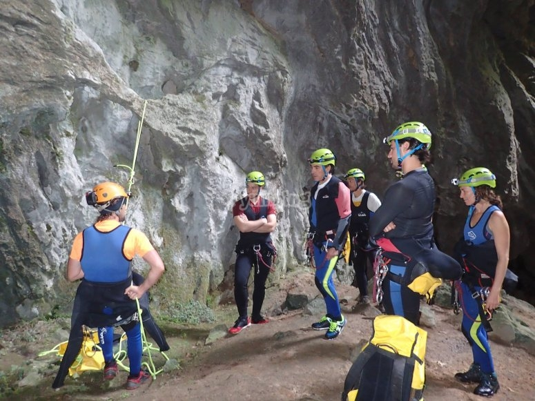 Family Canyoning Asturias