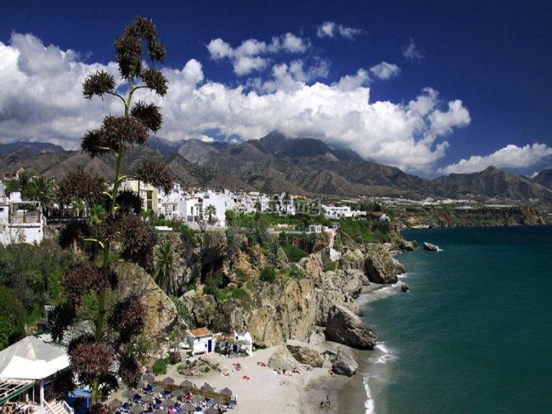 Andalucías littoral coastline